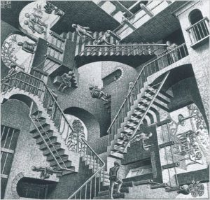 L'architecture impossible de Escher