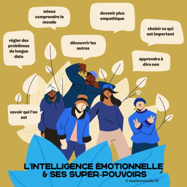 Intelligence émotionnelle infographie